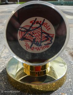 Kris Draper Autographed Detroit Red Wings Hockey Puck