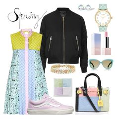 """""""Count what you see"""" by falonstarrider on Polyvore featuring Topshop, Vans, Kurt Geiger, Kate Spade, Sephora Collection, Givenchy, Mixit, Linda Farrow Luxe, outfit and ootd"""