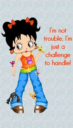 Image result for betty boop double trouble