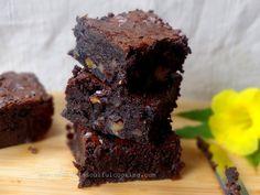 Chestnut Walnut Brownies ( gluten free)