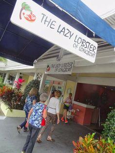 The Lazy Lobster restaurant on Longboat Key, Florida (Sarasota).