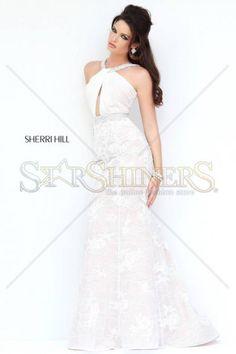 Rochie Sherri Hill 11202 White