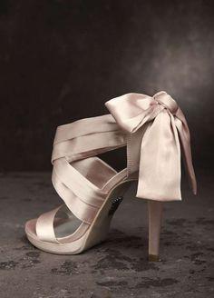 black vera wang heels bow - AOL Image Search Results