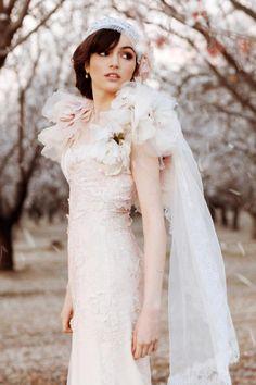 iSwii 美妝新聞台 | 婚紗:Almond Orchard in Bloom,凋零的美好,是為了下一次的盛開。