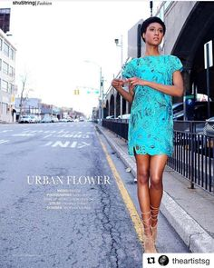 #Repost @theartistsg with @repostapp  I'm loving this dress  Espectacular