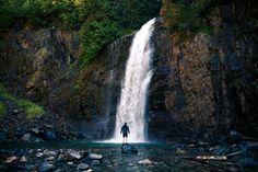 Hike to Franklin Falls, Washington