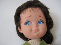Vtg 1960's Herman Pecker big eye DOLL green mini dress imp mod retro girl w Tag | Dolls & Bears, Dolls, By Brand, Company, Character | eBay!