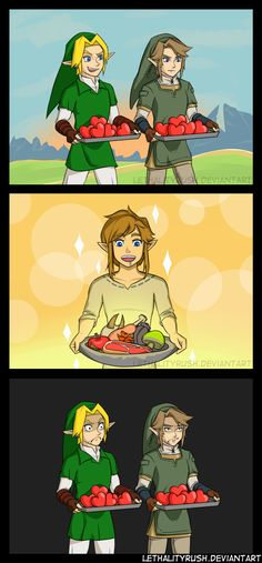 Some generations are better cooks. #LegendofZelda