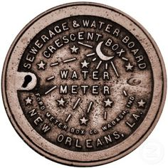 "Tattoo idea! Except it'd say ""Be Bold"" in the middle rather than ""water meter"". What do we think, world?     New orleans, NOLA, tattoo."