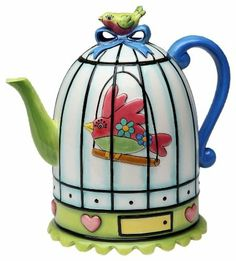 Appletree Design Flights of Fancy Teapot, 6-1/2-Inch by Appletree Design inc, http://www.amazon.com/dp/B007W55B7I/ref=cm_sw_r_pi_dp_wv.Yqb00FBB69