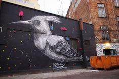 Graffiti by ROA Belgian