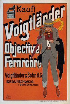 Voigtlaender Lenses. 1905 by kitchener.lord, via Flickr