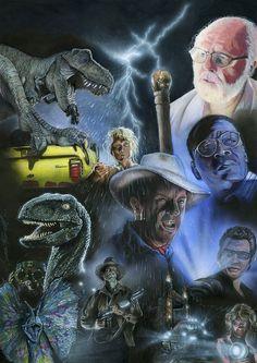 Jurassic Park by Simon Farrell [©2014]