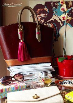 Picnic Bag petit en Vino by DCH www.divinacastidadhandbags.com