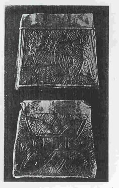 Kaptorga found in Chełm Drezdenecki, Poland. Culture: Slavic (West Slavs - early romanesque influences). Timeline: 11th century (treasure hidden after 1056). [source] Kaptorga was a small container for amulets and/or sacred herbs, worn around the...