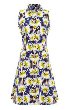 Toko Petal Stripe Tennis Dress by Mother of Pearl for Preorder on Moda Operandi