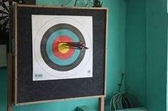 Home made archery target
