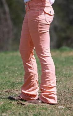 Dynasty Equine - Orange Creamsicle Hand Dyed Jeans, $55.00 (http://stores.ranchdressn.com/orange-creamsicle-hand-dyed-jeans/)