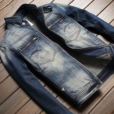 Denim Shirt Men, Denim Jacket Men, Denim Jackets, Estilo Denim, Awesome Shoes, Denim Fashion, Gentleman, Pants, Shirts