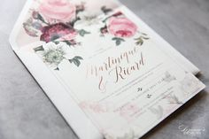 We specialise in creating exclusive wedding stationery such as invitations, save-the-date cards, etc Making Wedding Invitations, Wedding Stationery, Floral Invitation, Invitation Design, Save The Date Cards, Lush, Brides, Bloom, Change
