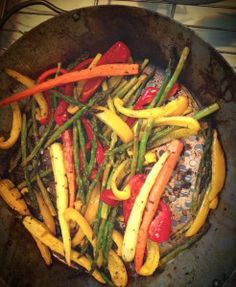 Easy and tasty — and pretty! — Lemon-Herb Grilled Vegetables