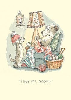 """I love you Granny"" by AnitaJeram.      I'm not a Granny yet...but thought this was cute."