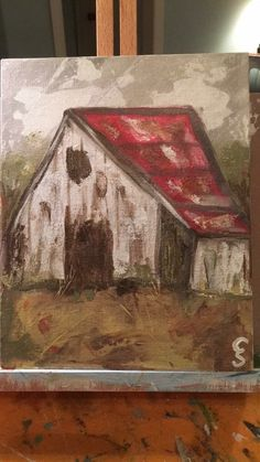 Artist CarolAnn Summer Southaven, MS Art Painting, Art Projects, Painting Inspiration, Painting, Mini Canvas Art, Canvas Art, Art Inspiration, Barn Art, Barn Painting