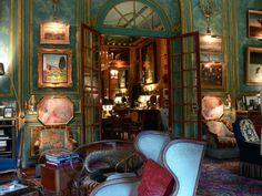 le somptueux appartement d'Isabelle et Hubert d'Ornano