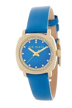 "Ted Baker London Women""s Leather Strap Quartz Watch. Sponsored by Nordstrom Rack."
