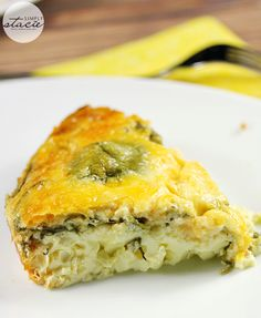 Slow Cooker Spinach & Feta Quiche - Slow Cooker Spinach & Feta Quiche...