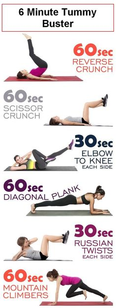 6 minute tummy buster