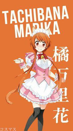 Free Anime Wallpaper HD for Smartphone and Desktop. All this wallpaper is for personal use only. Anime Girl Cute, Kawaii Anime Girl, Chica Anime Manga, Manga Girl, Nisekoi Wallpaper, Anime Character Names, Persona Anime, Anime Maid, Naruto E Boruto