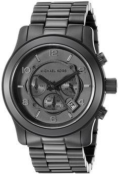 Michael Kors Watches Michael Kors Men s Black bracelet Chronograph Sport ( Black) Black Bracelets 01749a4f2e2