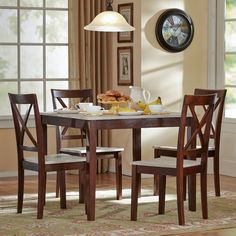 Found it at Wayfair.ca - Tilley Rustic 5 Piece Dining Set