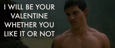 This valentine from Jacob.