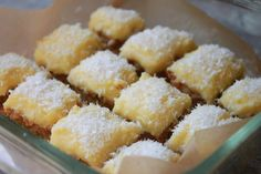 Lemon Bars from delightedmamma.com #paleo