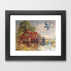 Friday Afternoon Framed Art Print by TheGnarledBranch - $40.00
