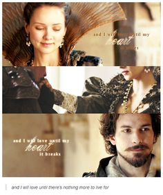 The Musketeers - Aramis and Queen Anne