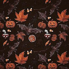 """Graphic from """"The Halloween Party"""" illustration by Retro Halloween, Halloween Imagem, Halloween Tumblr, Theme Halloween, Halloween Horror, Holidays Halloween, Happy Halloween, Halloween Decorations, Vintage Halloween Images"""