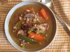 Porotos con costillar y verduras al vino blanco - Fran is in the Kitchen