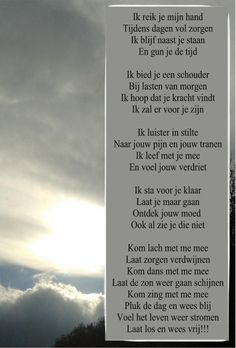 Gedicht Ik reik je mijn hand www.troostgeschenk.nl When Someone Dies, Live Love Life, Dutch Quotes, More Than Words, Story Of My Life, Qoutes, Love Quotes, Poems, Thoughts