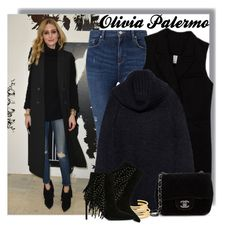 """OLIVIA PALERMO at Paul Joe Fashion Show in Paris 03/08/2016"" by anne-mclayne on Polyvore featuring Paul & Joe, Miss Selfridge, Alice + Olivia, Chanel, Madewell, Yves Saint Laurent, GetTheLook, fashionWeek, OliviaPalermo and CelebrityStyle"