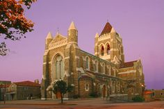 Grew up attending St. Bernard Church in Mt. Lebanon, PA. Even worked at the Rectory office for a time. A beautiful church!
