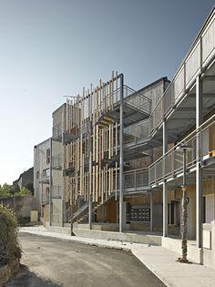 24 Housings in Argenton Sur Creus / Atelier Alassoeur