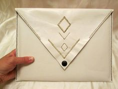FREE SHIPPING Leather clutch bag for woman leather clutch tablet case - pinned by pin4etsy.com