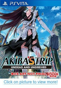 Shop AKIBA'S TRIP: Undead & Undressed PRE-OWNED PlayStation 3 at Best Buy. Find low everyday prices and buy online for delivery or in-store pick-up. Nintendo 3ds, Akibas Trip, Ps Vita Games, Box Art, Xbox One, Supernatural, Pop Culture, Cool Things To Buy, Video Games