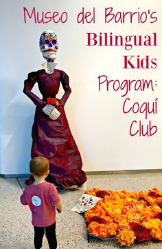 Museo del Barrio's Bilingual Kids Programming: El Coquí Club - LadydeeLG