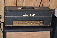 1968 Marshall Plexi - the holy grail of vintage guitar amps