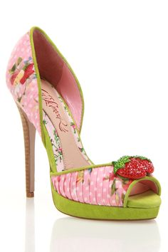 Cece L'Amour Juls Pump In Pink Multicolor