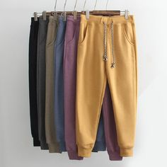 Cheap fashion trousers, Buy Quality trousers grey directly from China casual trousers Suppliers: Winter Womens Sweatpants Elastic Waist Fleece Cotton Sweat Pants Women Fashion Casual Trousers Grey Yellow Blue Black Teen Fashion Outfits, Outfits For Teens, Girl Outfits, Jogging, Casual Hijab Outfit, Casual Outfits, Clothing Photography, Cute Comfy Outfits, Kanye West